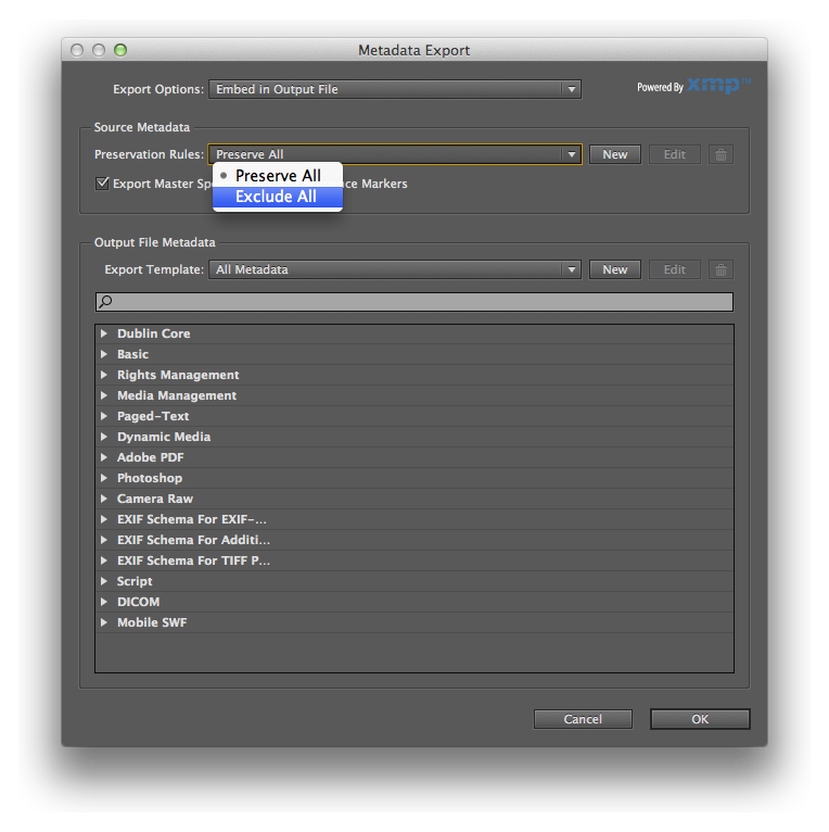 Screenshot of Adobe Media Encoder Web Video Settings