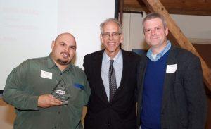 Leon Rainbow, Larry Trink, President of NJ CAMA, Dana Hutchins