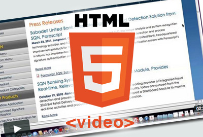 html5 video tutorial icon