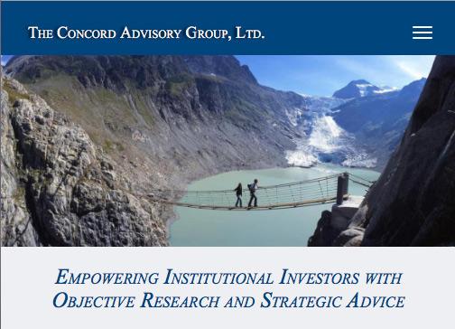 Concord Advisory Group mobile header