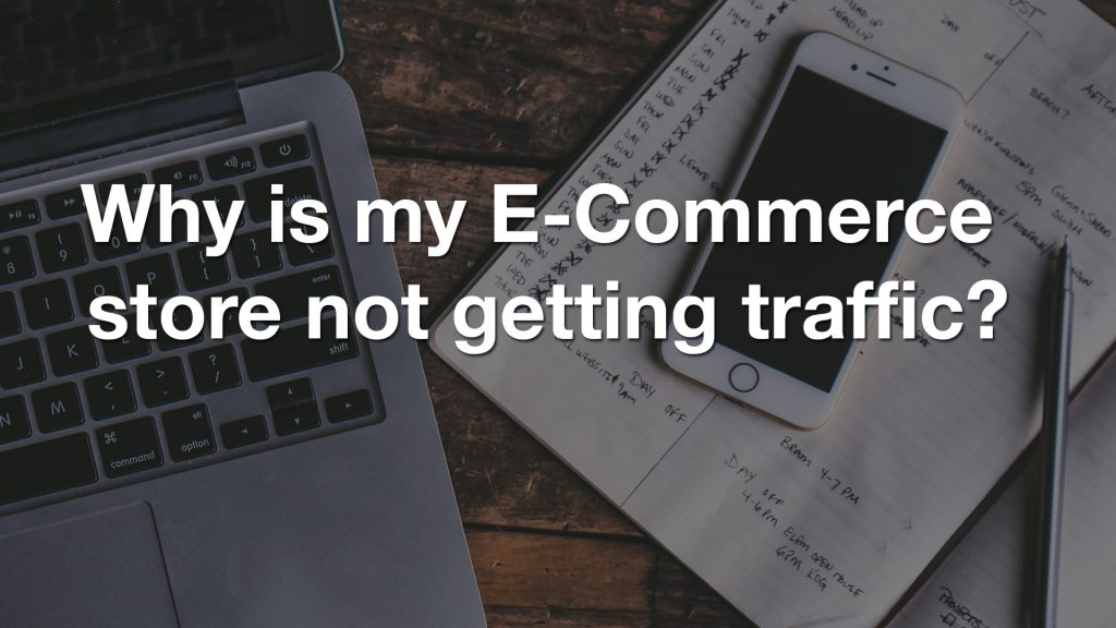 Why is my E-Commerce store not getting traffic?