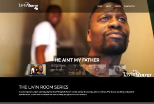 The Livin Room Series website by Inforest Communications