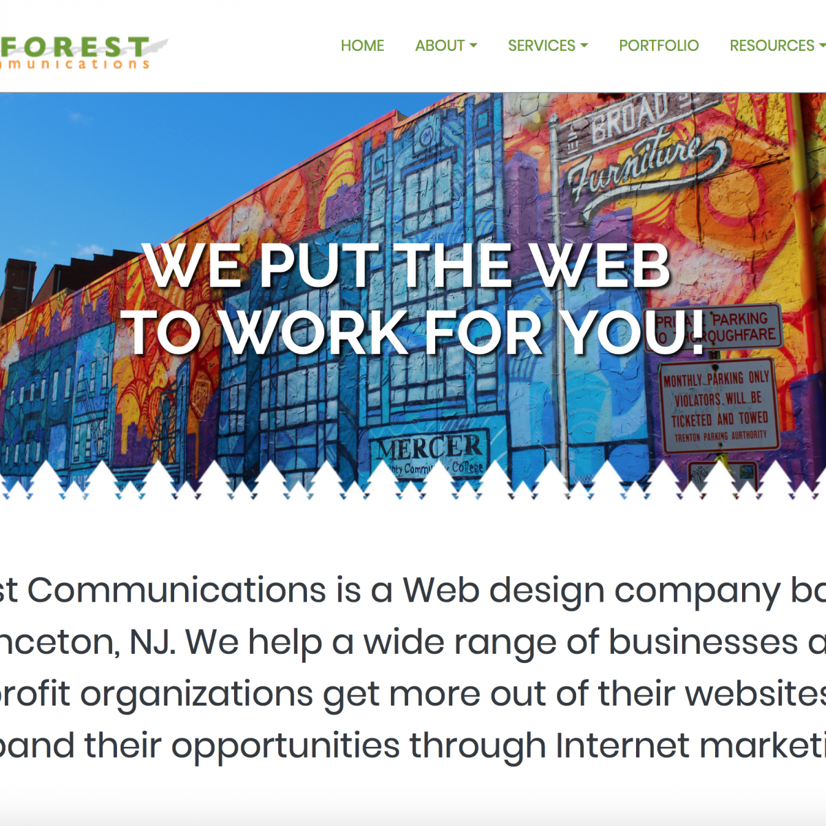Inforest Website Thumbnail