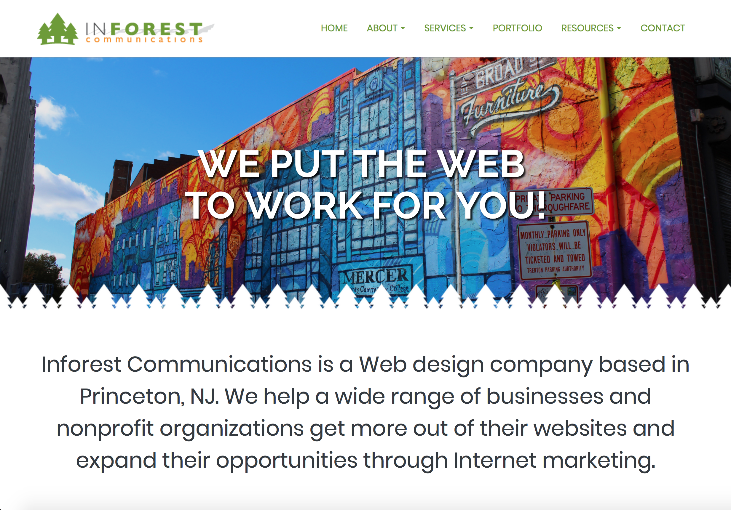 Inforest Website Thumbnail
