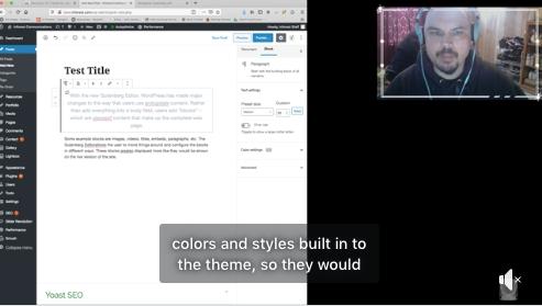 How To Use The WordPress Gutenberg Editor